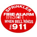 WHEN BELL RINGS, CALL 911